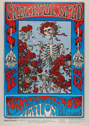Family Dog FD-26 Grateful Dead Avalon Ballroom 9/16/66 concert poster