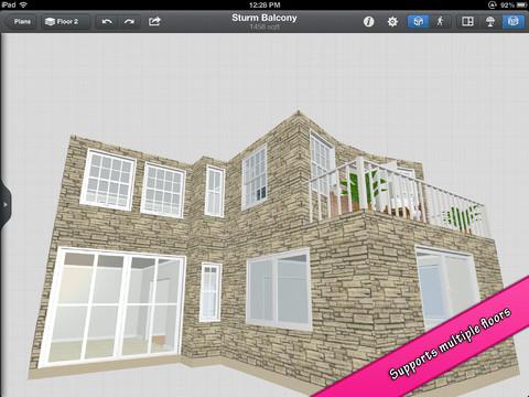 Black mana studios launches interior design for ipad for Architecture 3d ipad