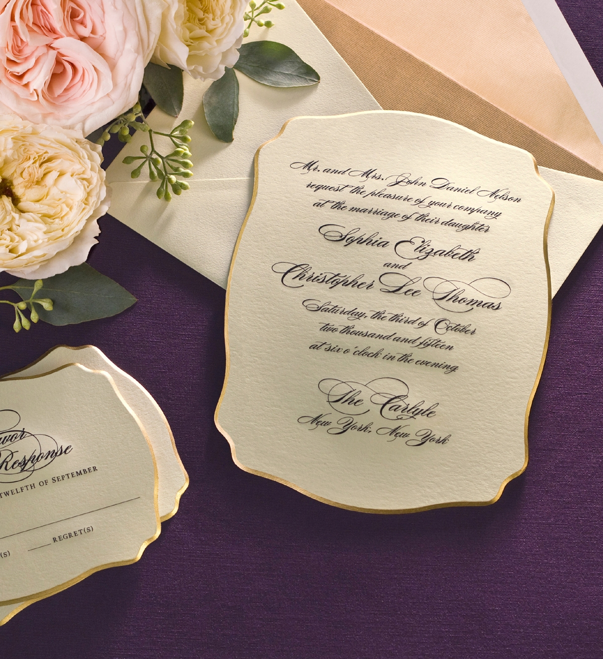Amazing William Arthur Premiers New Wedding Invitations Album With Special Offer