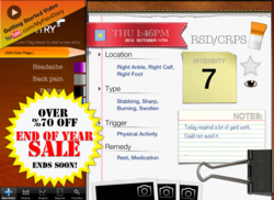 My Pain Diary HD for iPad on sale