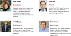 SharePoint Adoption webinar panelists