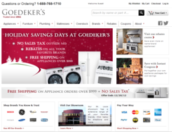 The new goedekers.com