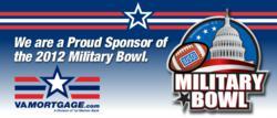 VAMortgage.com Sponsors 2012 Military Bowl