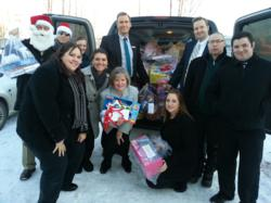 Embassy Suites Managers-Angel Tree Donation