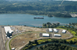 Industrial buildings available for lease at Port of Kalama.