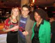 Clear Channel celebrates holidays with a bowling bash at Frames