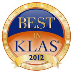 2012 Best in KLAS Teleradiology Services