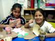 Christel House Mexico students in art class