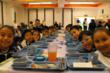Christel House Mexico students having lunch