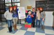 New York Lady Giants sponsored the Holiday Shoppe