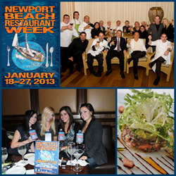 gI 81601 nbrw collage 4up promo2013 Newport Beach Restaurant Week Serveert Record Restaurant Deelname en uitgebreid tot tien dagen van Bargain Gourmet