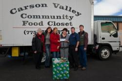 EMCO High Voltage Makes Donation to Carson Valley Community Food Closet