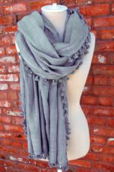 Designer Silk Blend Scarves for Sale