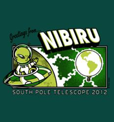 Geeky astronomy t-shirt for South Pole Telescope project