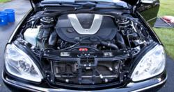 V12 Mercedes S600 engine detailed