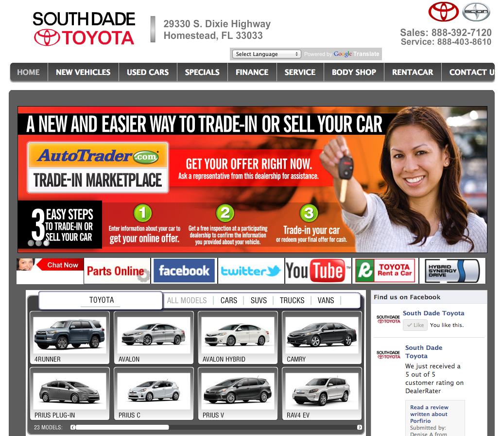 Toyota Dealers Miami: SEOdriven.com Brings Targeted Traffic Thru Search Engine
