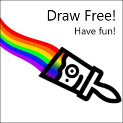 Draw Free! logo