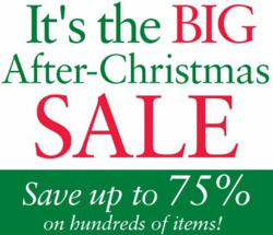 After Christmas Sales 2012 & Year-End Deals