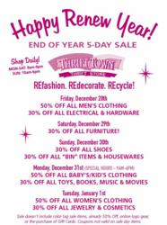 Thrift Town Renew Year Sale