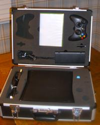 xBox case, PS3 backpack, Wii carrying case, travel, video gme console
