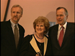 James Cameron, Helen Harris, George H.W. Bush