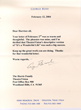 George H.W. Bush letter to Helen Harris