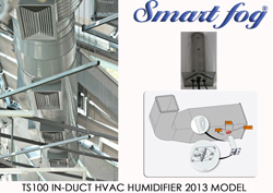 Smart Fog 2013 TS100 In-Duct HVAC Commercial Humidifier Model