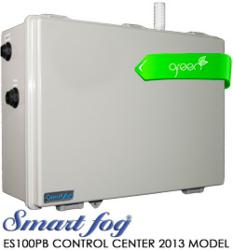 Green Ultra Low Energy Smart Fog 2013 ES100PB Control Center