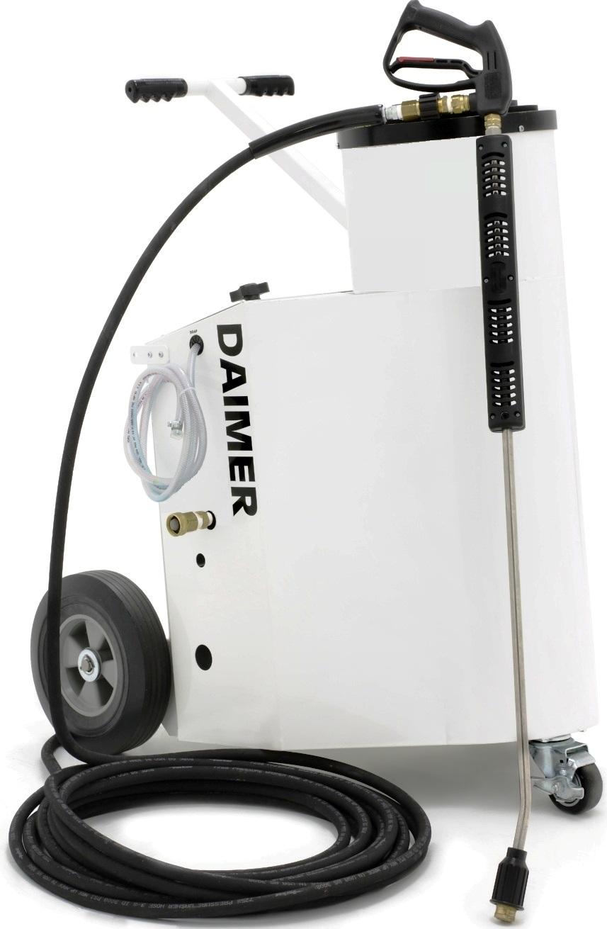 Daimer Unveils Auto Detailing Steam Car Wash Machine With
