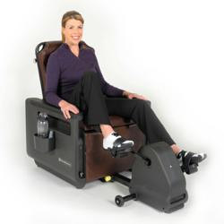 The ChairMaster™Recumbent Bike & Exercise Chair