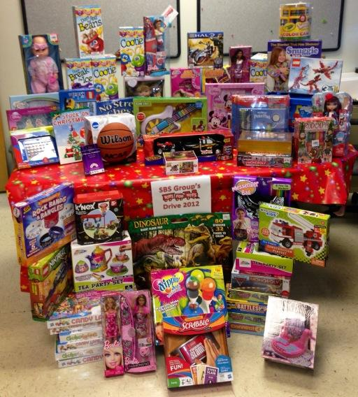 Toys For Tots 2012 : Sbs group delivers holiday spirit through toys for tots