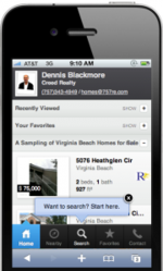 Mobile search engine for virginia beach and hampton roads real estate