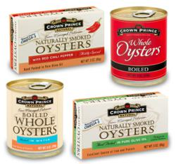 Crown Prince Oysters Available Again