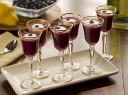 Chilean Blueberry-Pear-Champagne Aperitif