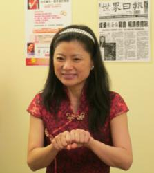 Marriage Expert Hellen Chen conducting a workshop to teach couples how to have a lasting relationship.