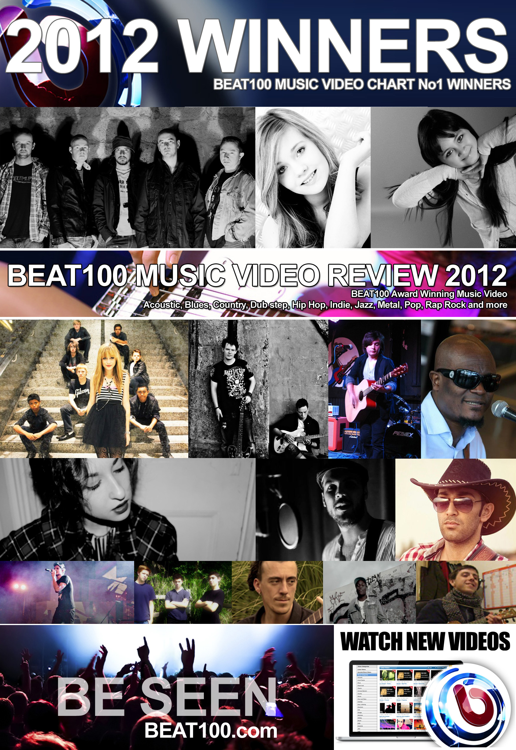 Music Video Chart Review the Best Music of 2012 on BEAT100