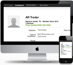 AR Trader is a collection agency marketplace that connects business with collection agencies.