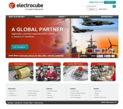 Electrocube launches new website - electrocube.com