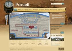 City of Purcell: Home
