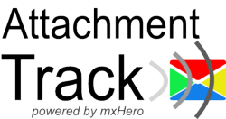 mxHero Attachment Track Logo
