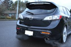 CorkSport 2010+ Mazdaspeed 3 Axle Back Exhaust