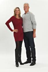 Christie and Mark Miller after losing a combined total of 46 lbs. on Nutrisystem.