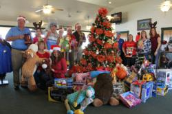 Canton Texas Golf Course helps area children with Toy Drive for Christmas.
