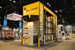 Spacesaver Industrial booth at ProMat 2011