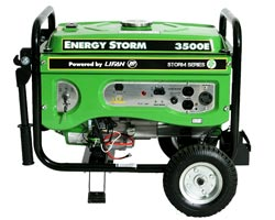 Lifan 3500 Watt Electric Start Generator