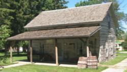Fur Trader's Cabin, Evansville Pioneer Village