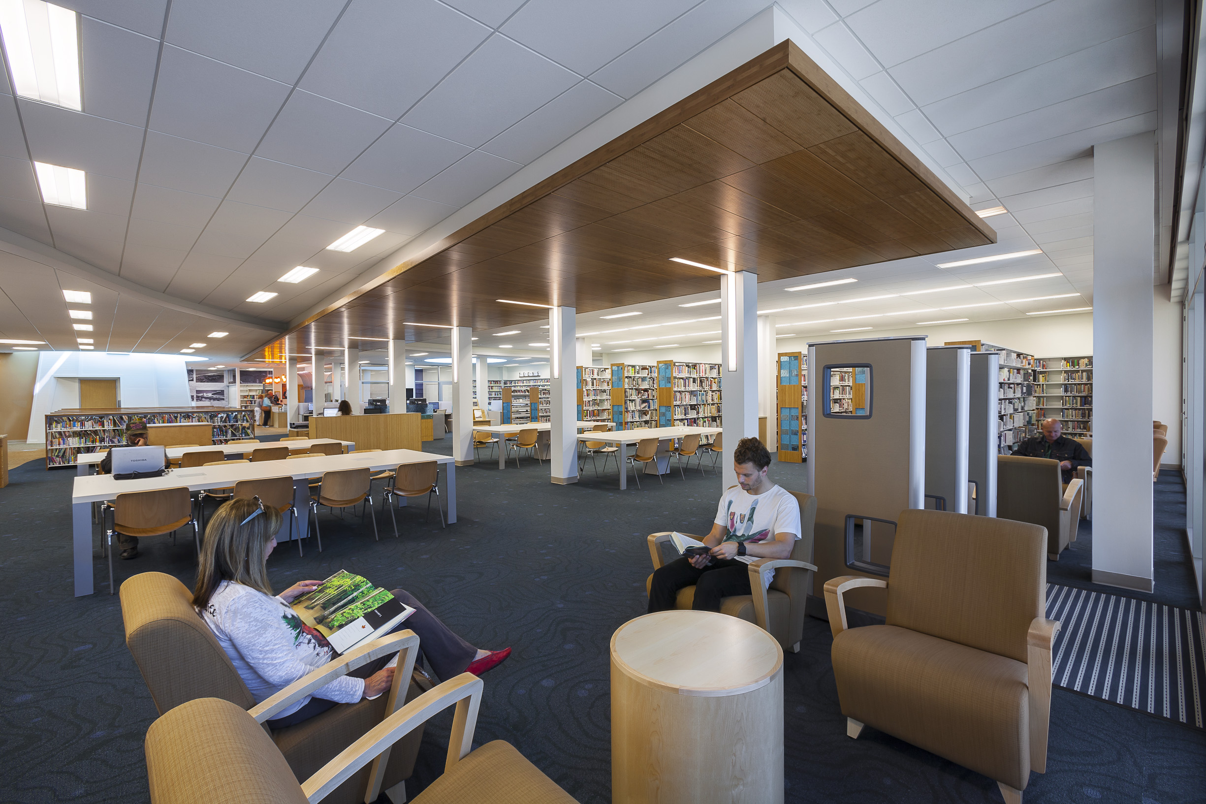 Malibu Library Featured in Library Journals Top Architecture