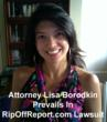 RipOffReport.com Fails In Motion for Leave to Amend Lawsuit Against Attorney Lisa J. Borodkin Source: Rexxfield Internet Law Watch