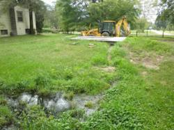 failed septic tank system
