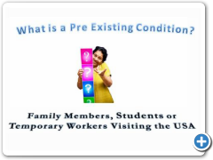 Pre Existing Condition Training Video for Visitors to the US